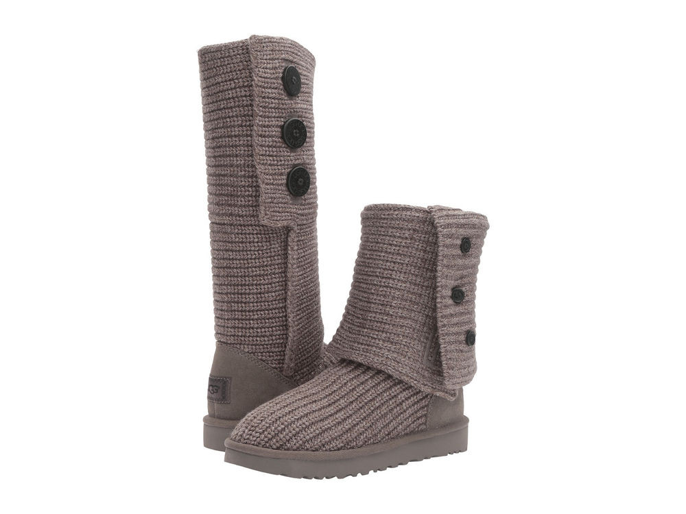 Knit Boots Inspirational Women Ugg Australia Classic Cardy Boot Grey Wool Of Luxury 48 Photos Knit Boots