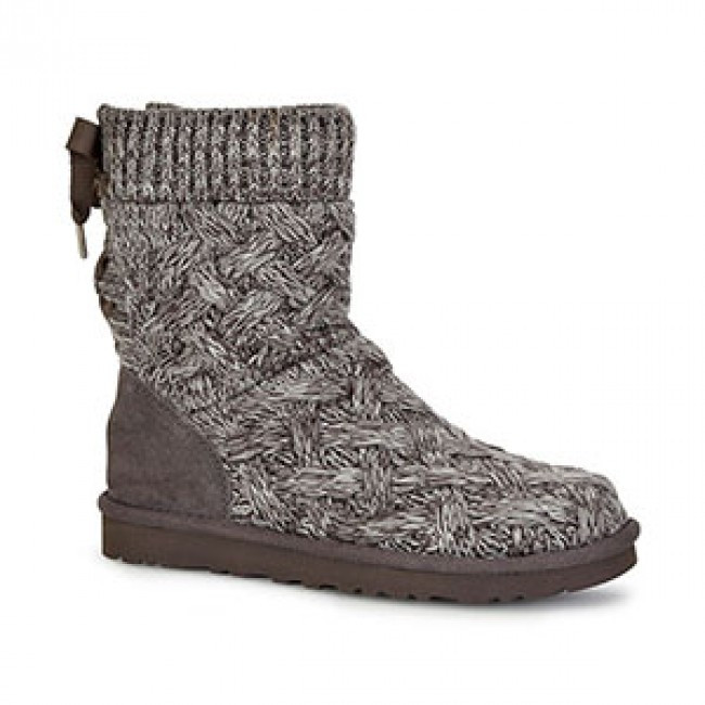 Knit Boots Lovely Ugg isla Heather Grey Knit Boot Women Of Luxury 48 Photos Knit Boots