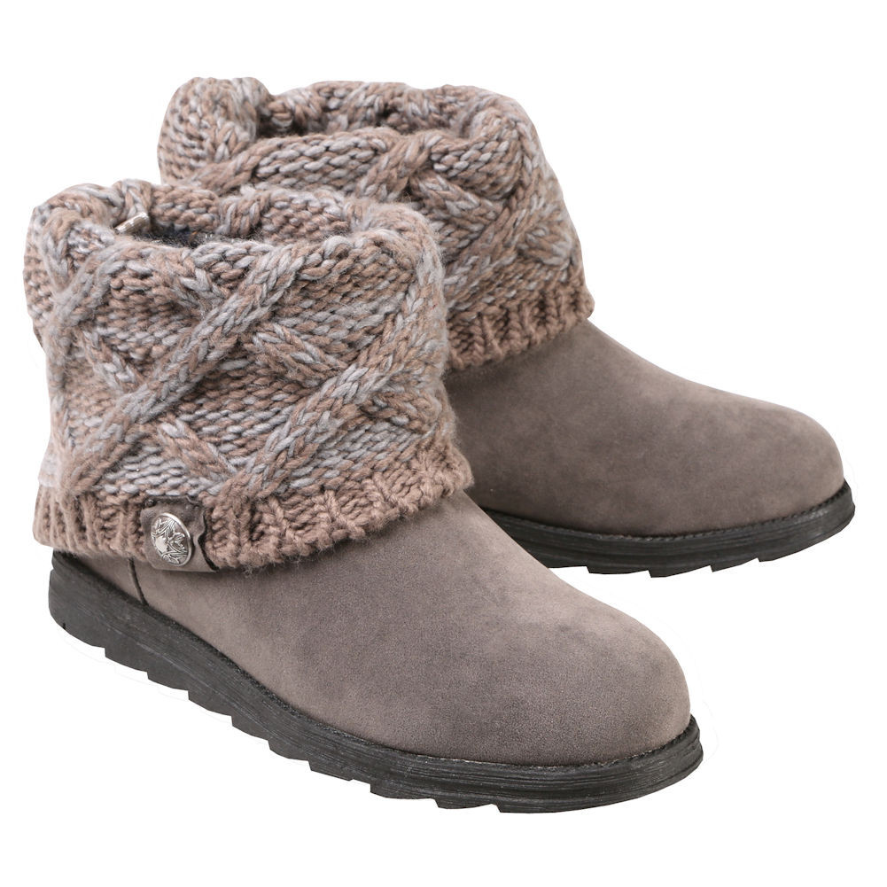 Knit Boots New Muk Luks Ankle Boots with Sweater Knit Cuff Of Luxury 48 Photos Knit Boots