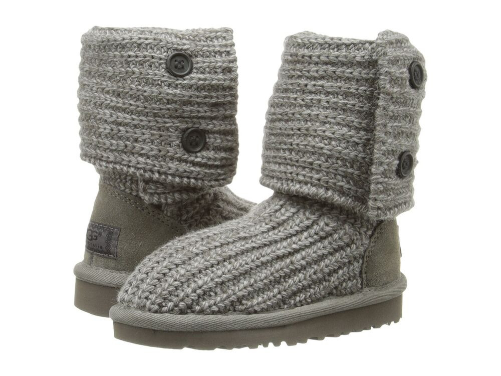 Knit Boots Unique New Kids Girls Women Ugg Australia Knit Boot Classic Cardy Of Luxury 48 Photos Knit Boots