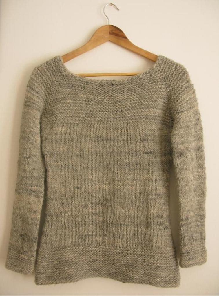 12 Simple Sweater Patterns You Can Knit in a Flash