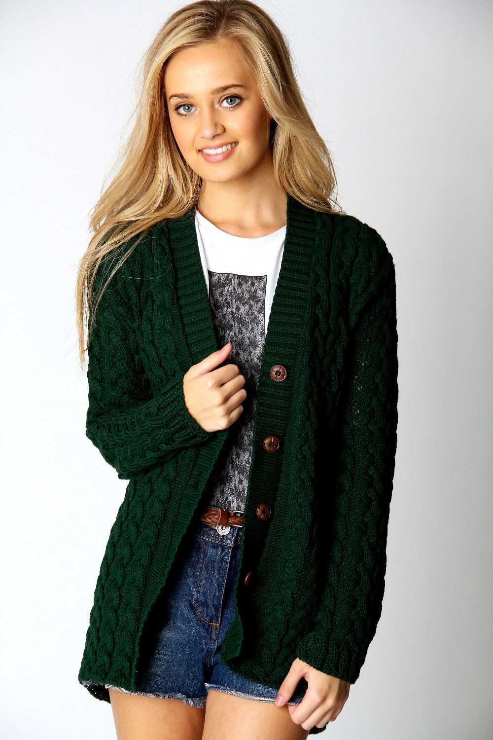 Knit Cardigan Fresh Boohoo Womens La S Lucy Cable Knit Long Sleeve Hip Of Delightful 41 Ideas Knit Cardigan