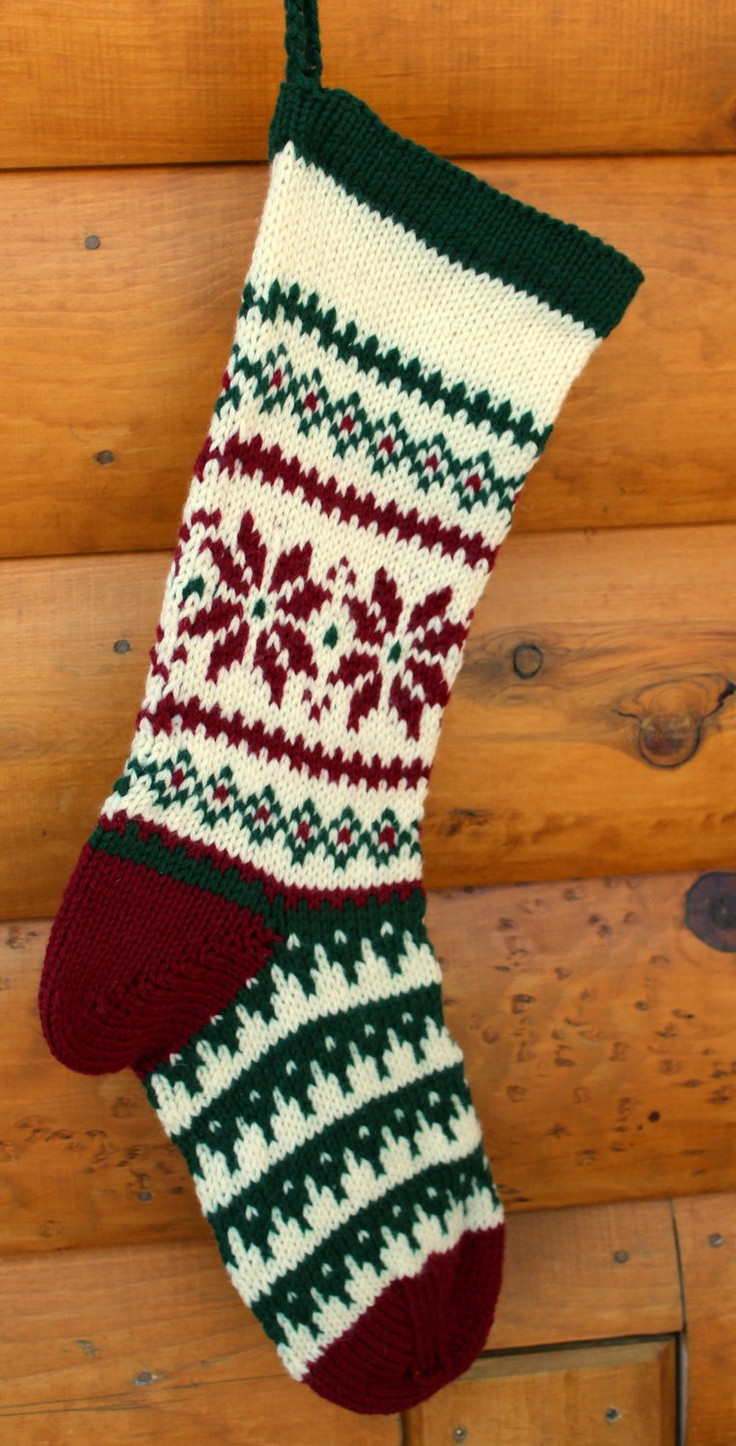 Knit Christmas Stockings Beautiful 98 Best Christmas Stockings Images On Pinterest Of Fresh 41 Photos Knit Christmas Stockings