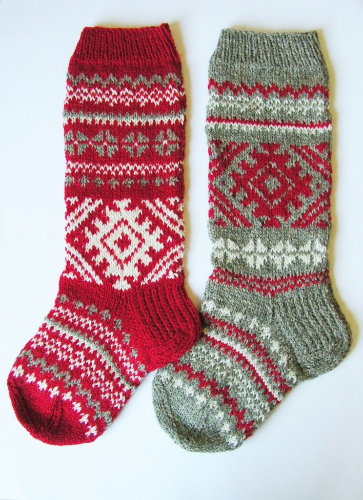 Knit Christmas Stockings Beautiful Christmas Stocking Hand Knit Wool Folksy by Knittingswithsense Of Fresh 41 Photos Knit Christmas Stockings