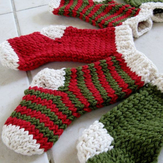53 best images about Knit Christmas stockings on Pinterest