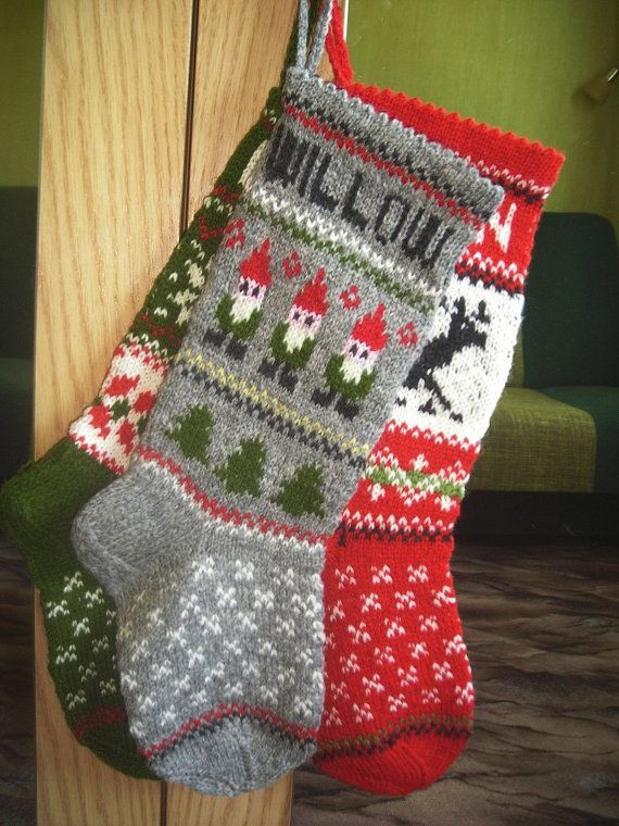 Knit Christmas Stockings Lovely Best 25 Knitted Christmas Stockings Ideas On Pinterest Of Fresh 41 Photos Knit Christmas Stockings
