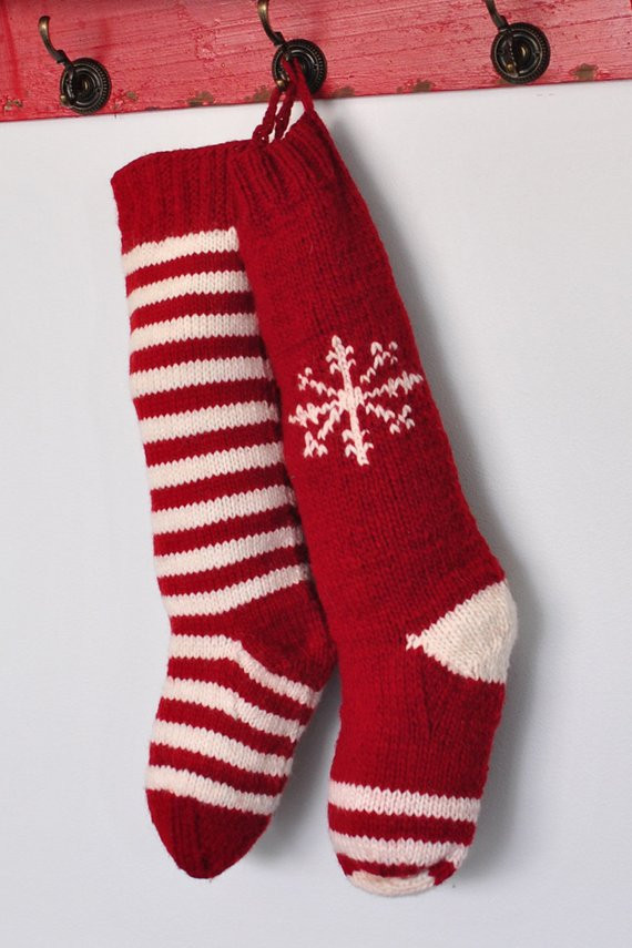 Knit Christmas Stockings New Unavailable Listing On Etsy Of Fresh 41 Photos Knit Christmas Stockings