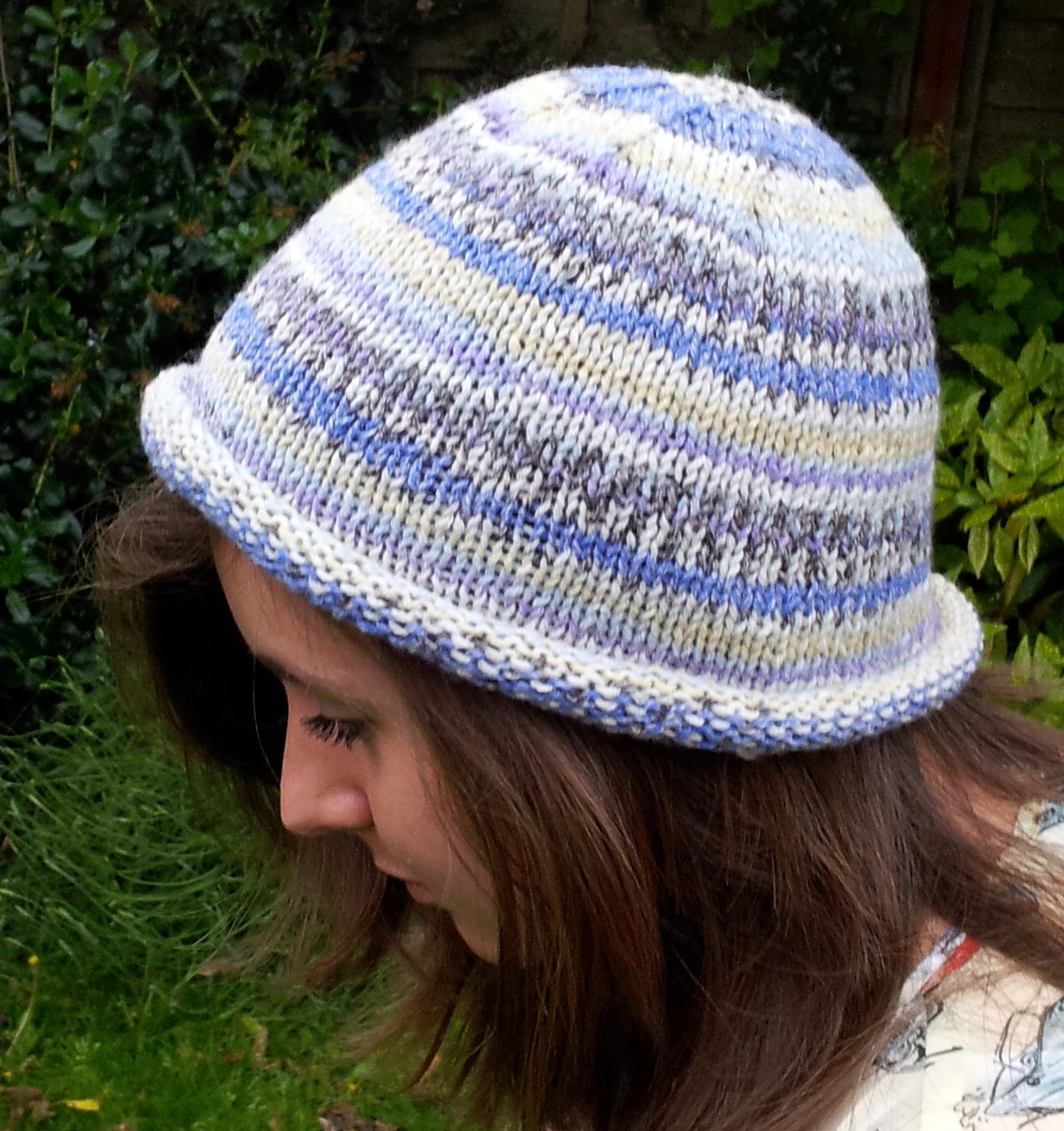 Knit Hat Patterns Awesome Knitted Rolled Brim Beanie Hat – Free Beginners Pattern Of Gorgeous 49 Pictures Knit Hat Patterns