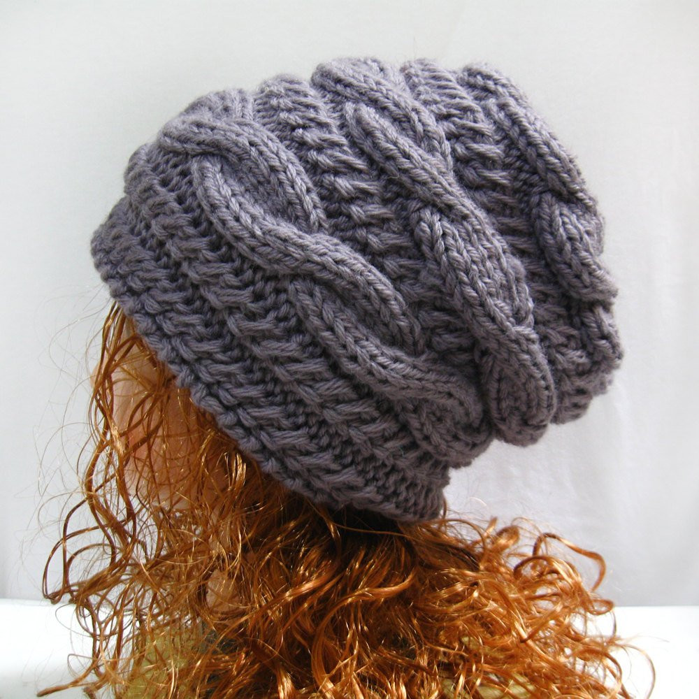 Knit Hat Patterns Awesome Slouchy Hat Knitting Pattern Slouchy Knit Hat Pattern Of Gorgeous 49 Pictures Knit Hat Patterns