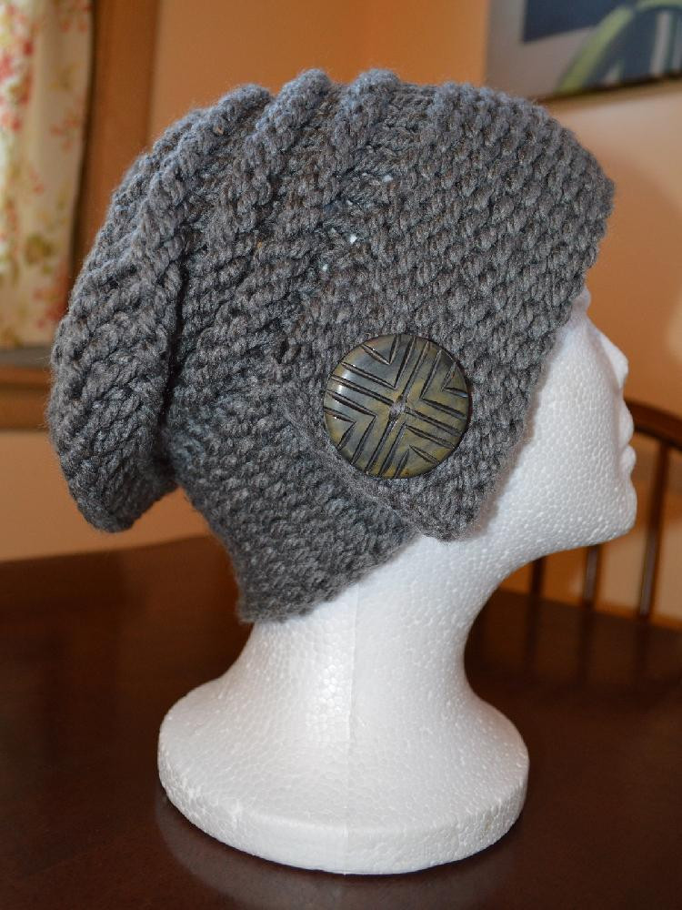 Knit Hat Patterns Best Of the City Slouch Hat Loom Knitting Pattern by Joanna Brandt Of Gorgeous 49 Pictures Knit Hat Patterns