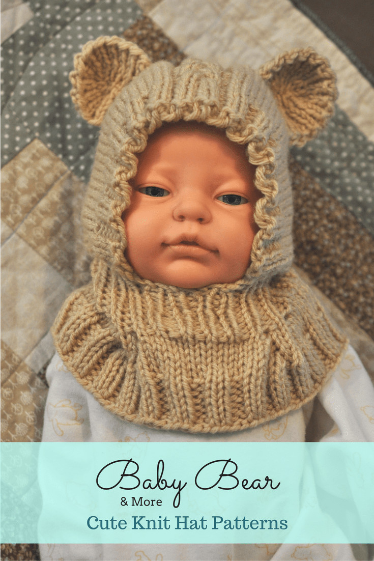 Knit Hat Patterns Fresh Knit Bear Hat Dinosaur Hat & More Knit Hat Patterns for Of Gorgeous 49 Pictures Knit Hat Patterns
