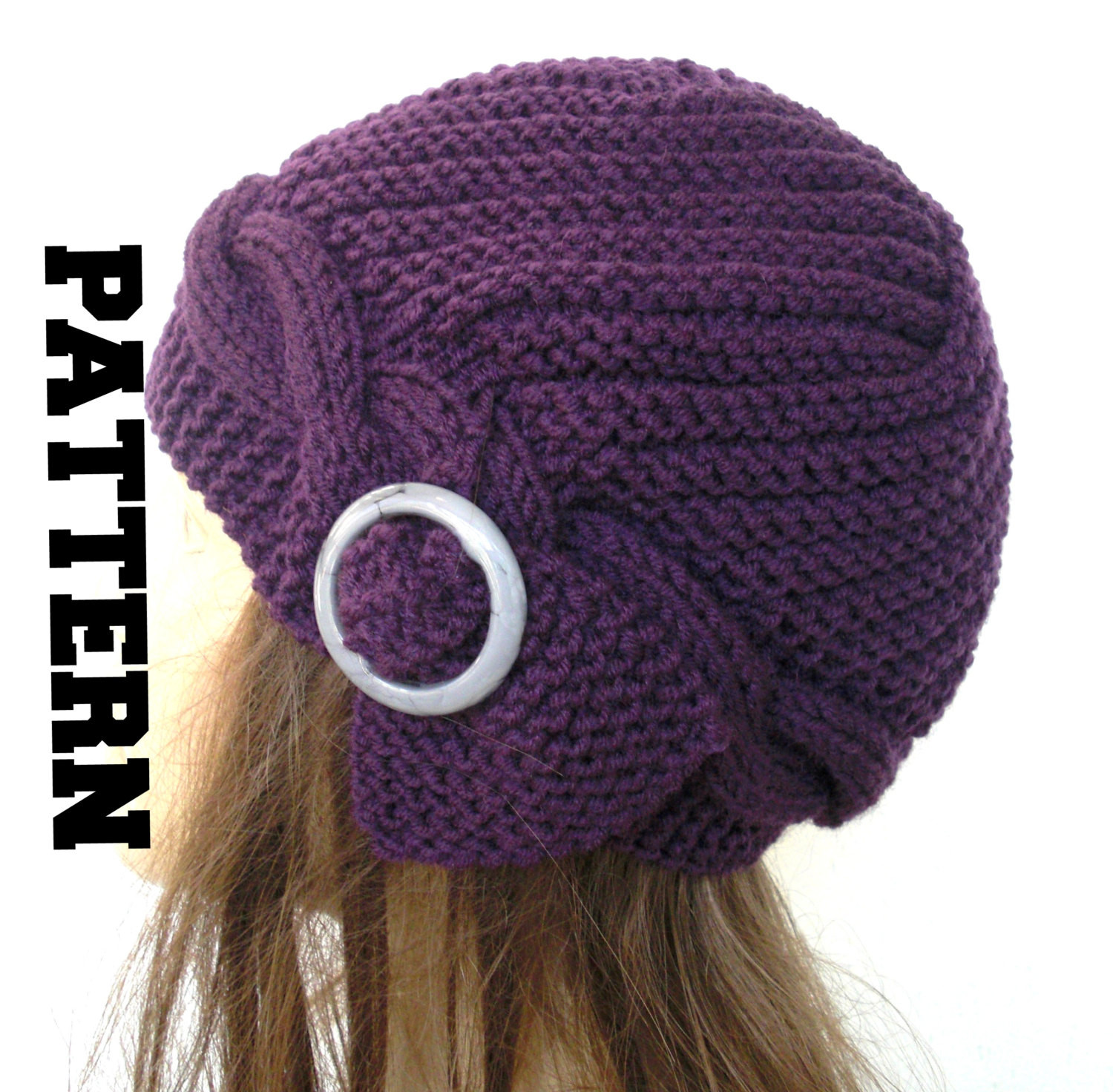 Knit Hat Patterns Inspirational Cable Knit Hat Pattern Instant Download Knit Hat Pattern Of Gorgeous 49 Pictures Knit Hat Patterns