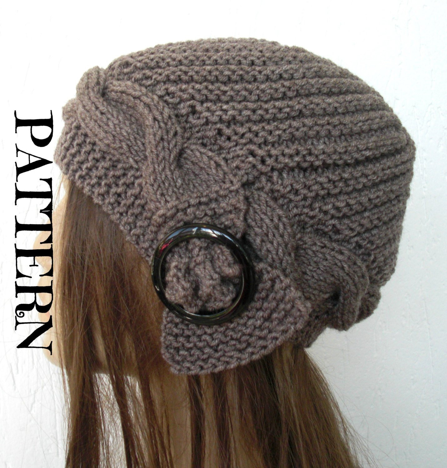 Knit Hat Patterns Lovely Instant Download Knit Hat Pattern Digital Hat Knitting Of Gorgeous 49 Pictures Knit Hat Patterns