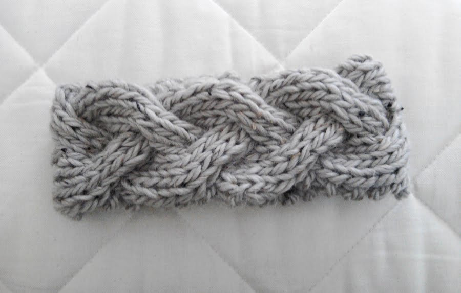 how to knit a headband free patterns