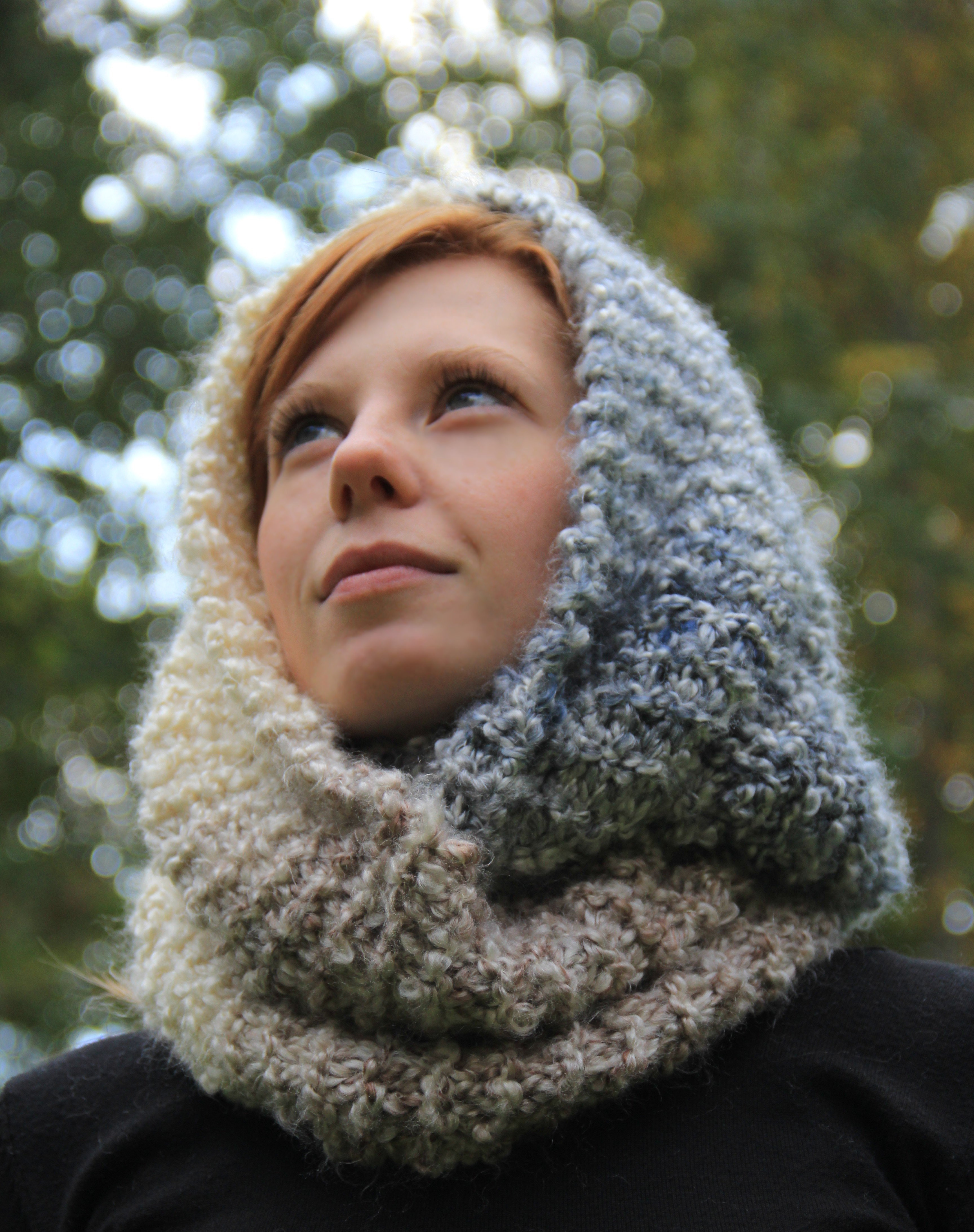 Knit Infinity Scarf Awesome the Transitional Infinity Scarf Of Wonderful 49 Photos Knit Infinity Scarf