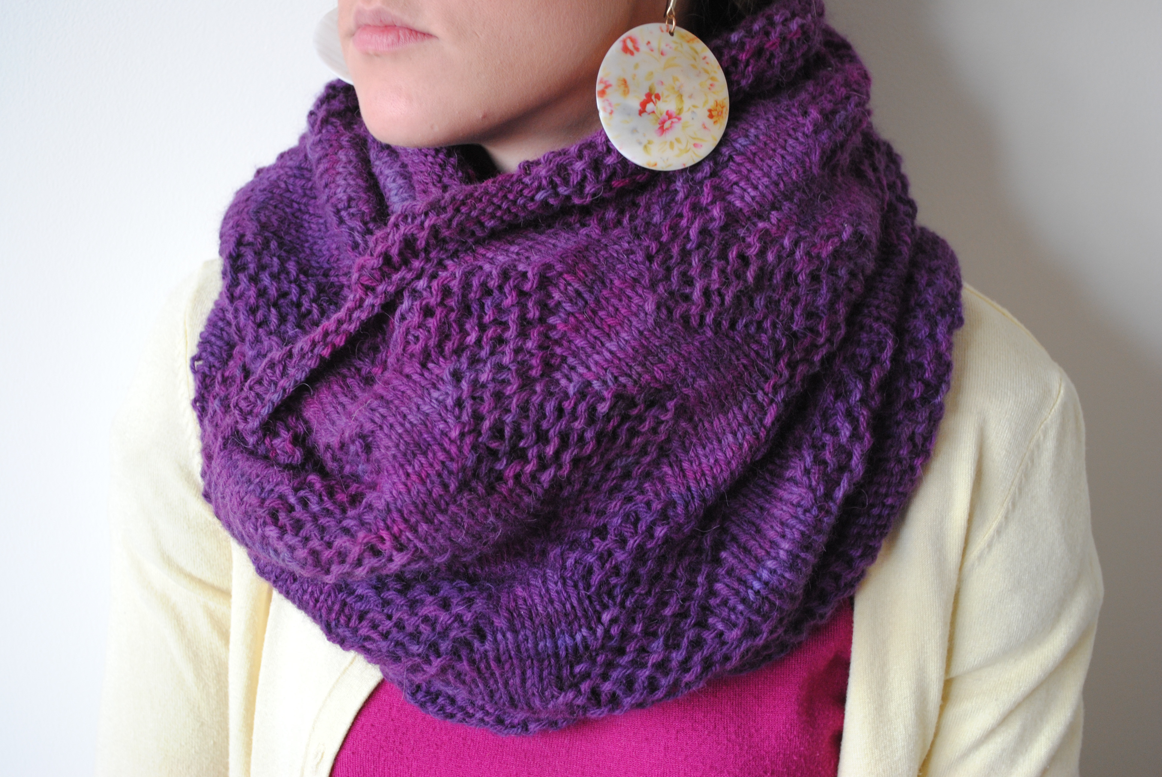 Knit Infinity Scarf Beautiful Purple Chevron Infinity Scarf Of Wonderful 49 Photos Knit Infinity Scarf