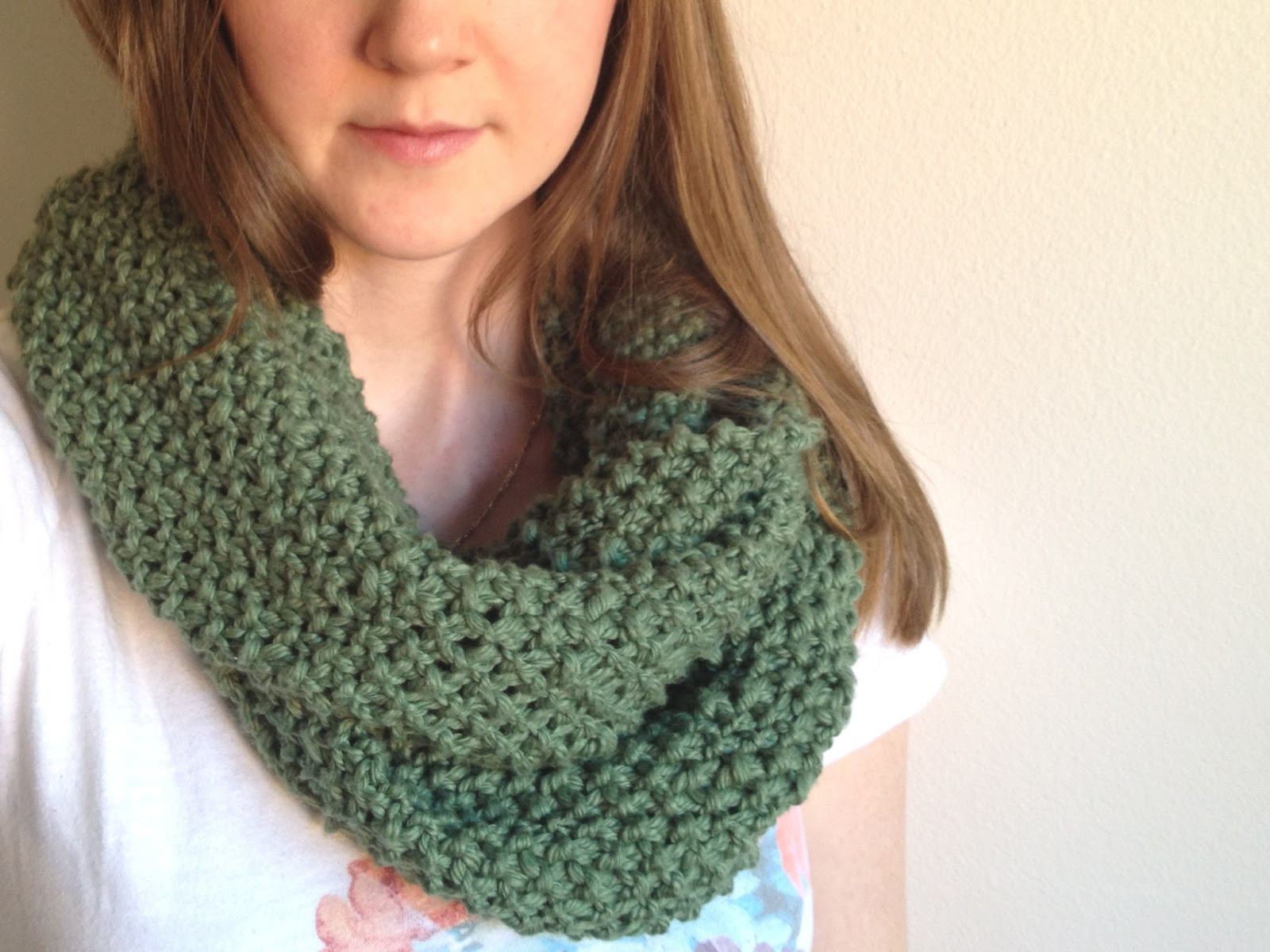 free infinity scarf pattern for ment form