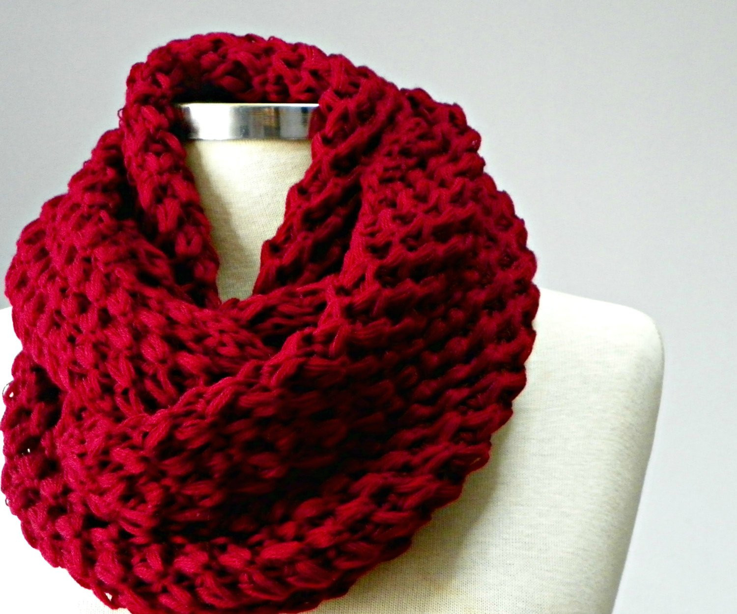 Knit Infinity Scarf Inspirational Sale Knit Scarf Knitted Infinity Scarf Chunky Cowl Scarf Of Wonderful 49 Photos Knit Infinity Scarf