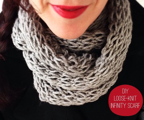 Knit Infinity Scarf New How to Make 41 Easy and Fun Infinity Scarves & Wear them Of Wonderful 49 Photos Knit Infinity Scarf
