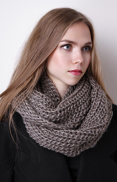 Knit Infinity Scarf New Knit Infinity Scarf Designs and Patterns Of Wonderful 49 Photos Knit Infinity Scarf