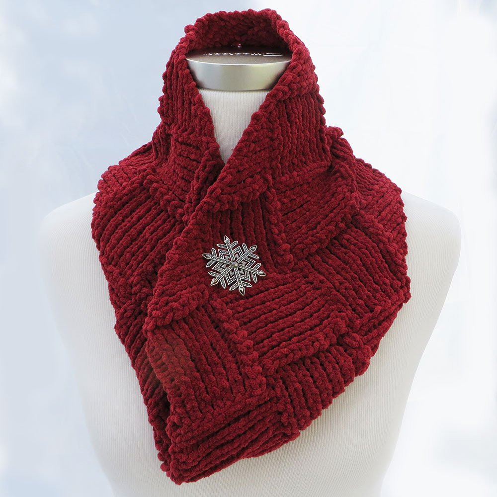 Knit Infinity Scarf Unique Hand Knit Infinity Scarf In Red Of Wonderful 49 Photos Knit Infinity Scarf