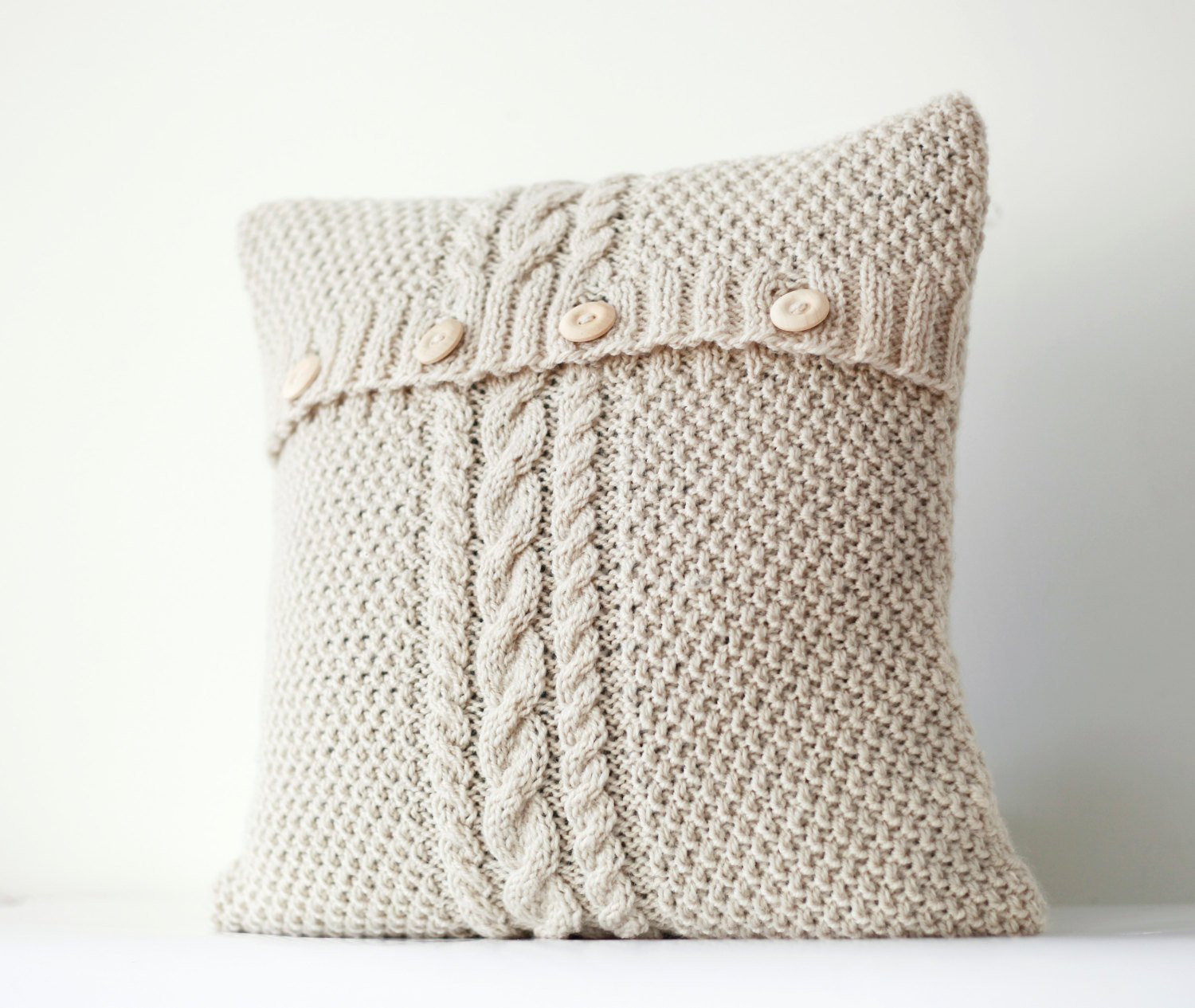 Knit Pillow Awesome Cable Hand Knitted Pillow Cover Ivory Decorative Pillows Of Charming 46 Pics Knit Pillow