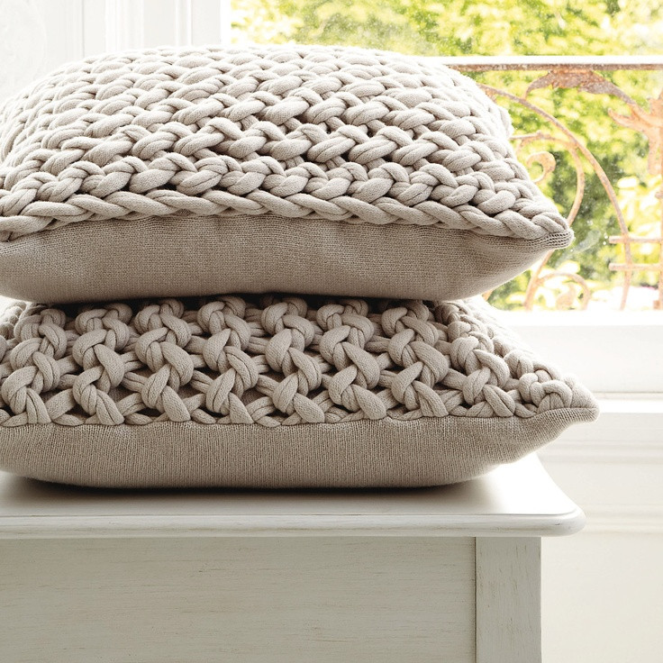 Knit Pillow Beautiful Pinterest • the World's Catalog Of Ideas Of Charming 46 Pics Knit Pillow