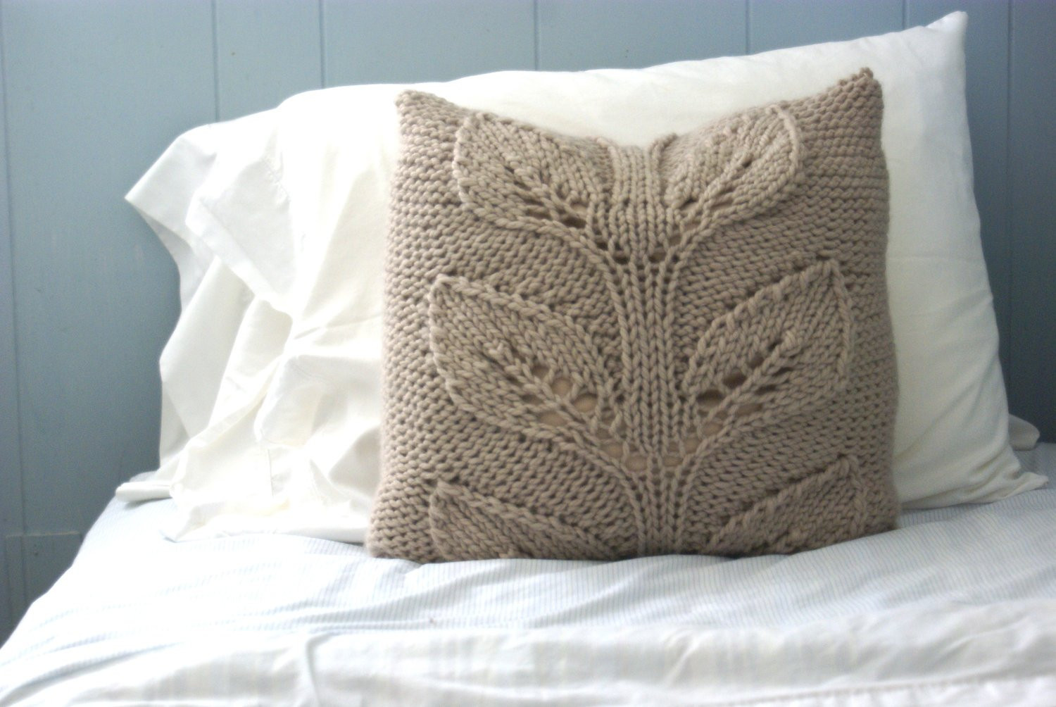 Knit Pillow Beautiful Rustic Knit Pillow Sham Cabled Pillow Sham Falling Leaves Of Charming 46 Pics Knit Pillow