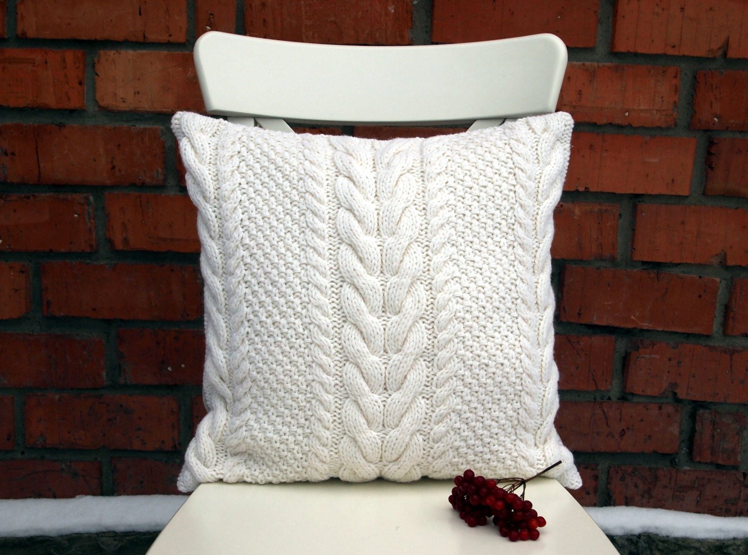 Knit Pillow Elegant F White Cable Knit Pillow Cover 18×18 Inches 45×45 Cm Of Charming 46 Pics Knit Pillow