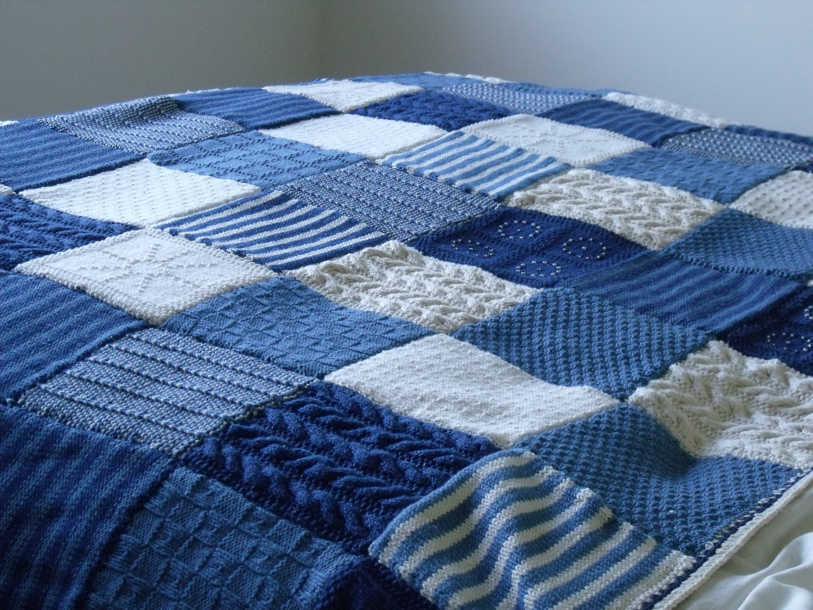 Knit Throw Blanket Beautiful Knit It Grow It Cook It Knitted Blanket Finished Of New 48 Pictures Knit Throw Blanket