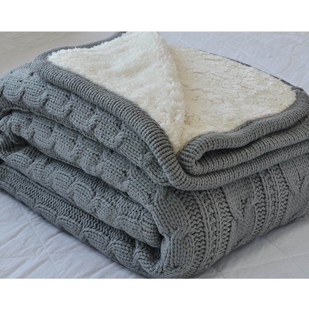 Knit Throw Blanket Luxury Functional Thicken Velvet Knit Throw Blankets sofa Fice Of New 48 Pictures Knit Throw Blanket