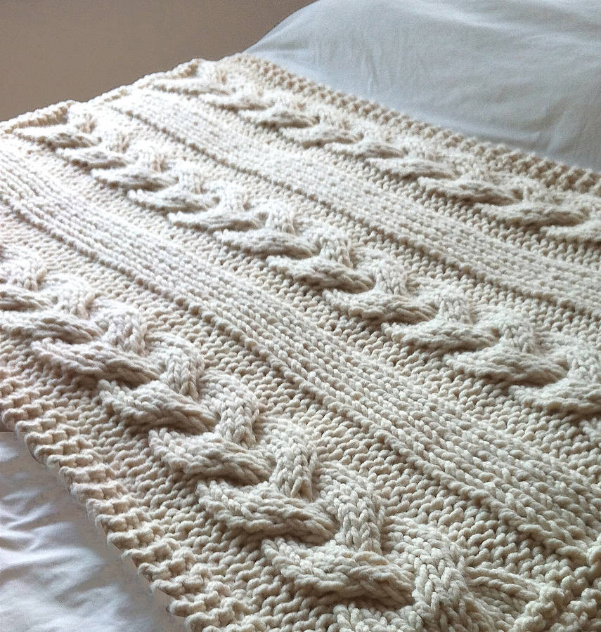 Knit Throw Blanket Luxury Knitted Blankets – An Overall Review and Knitting Of New 48 Pictures Knit Throw Blanket