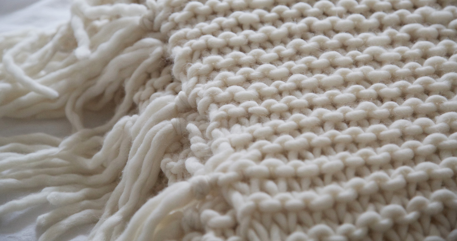 Knit Throw Blanket New How to Knit A Blanket Wool and the Gang Blog Of New 48 Pictures Knit Throw Blanket