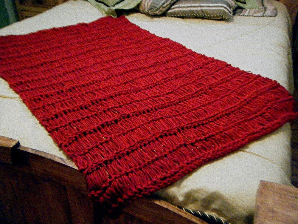 Knit Throw Blanket New Knit Throw Blanket Dark Red Crimson Scarlet Ruby Fringe Will Of New 48 Pictures Knit Throw Blanket