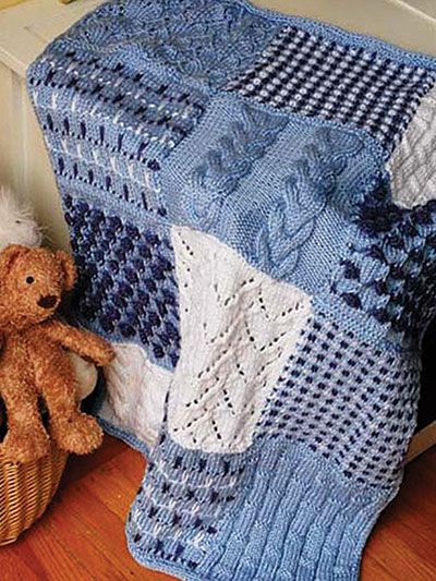 Sampler Knitting Patterns for Afghans Accessories and