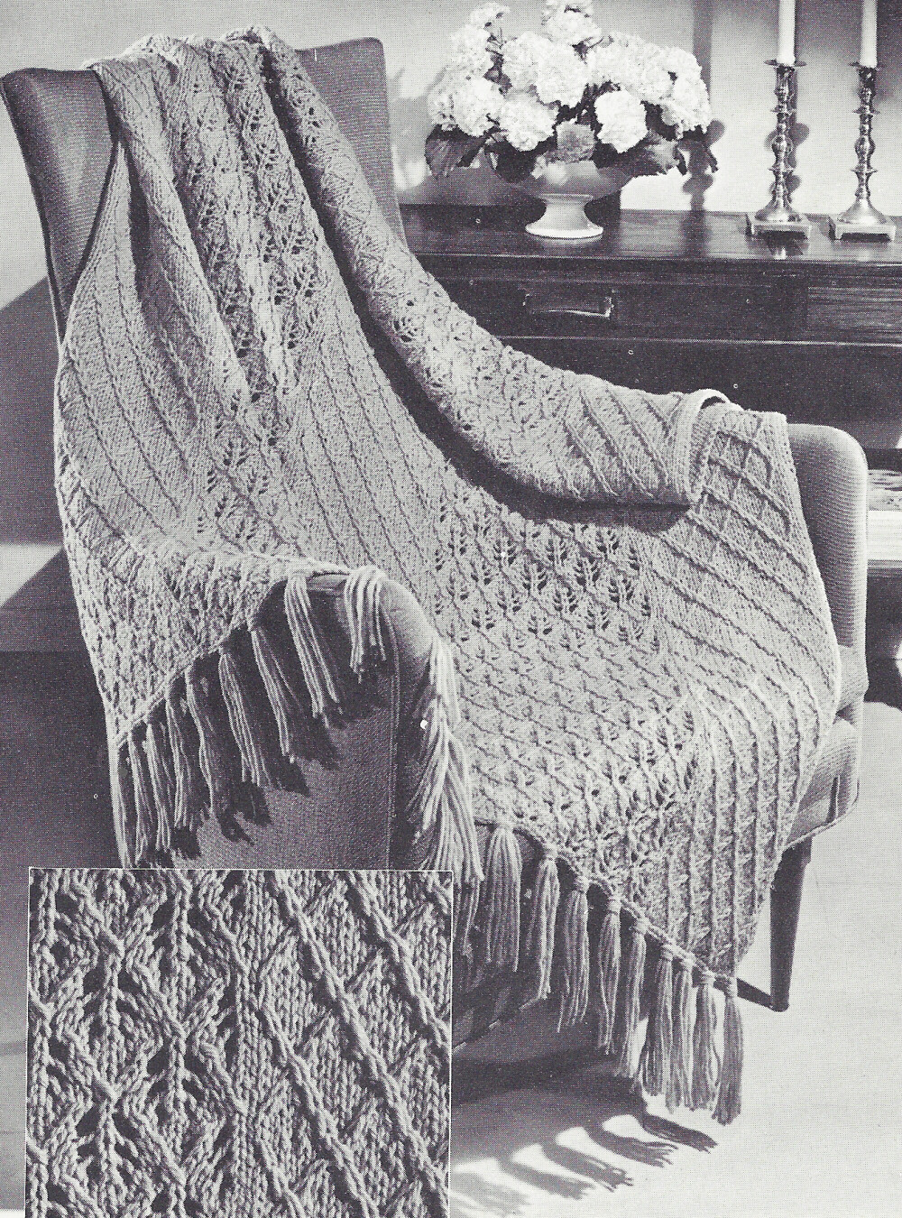Knitted Afghan Patterns Awesome Vintage Knitting Pattern to Make Knitted Afghan Throw Of New 43 Photos Knitted Afghan Patterns