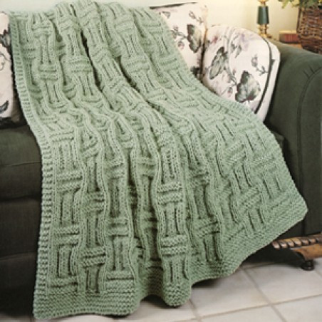 Knitted Afghan Patterns Elegant Quick Knit Basketweave Afghan Knit Epattern Of New 43 Photos Knitted Afghan Patterns