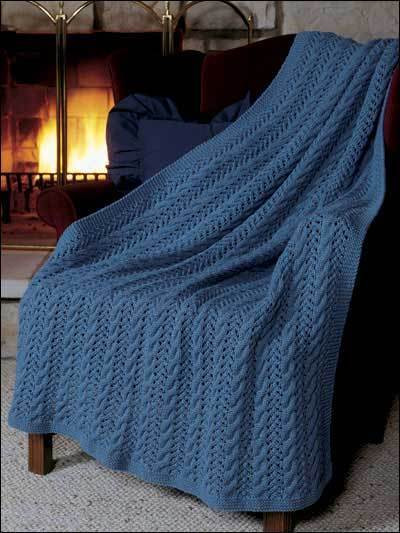 Knitted Afghan Patterns Inspirational Aran Afghan Blanket Knitting Pattern 99p Of New 43 Photos Knitted Afghan Patterns
