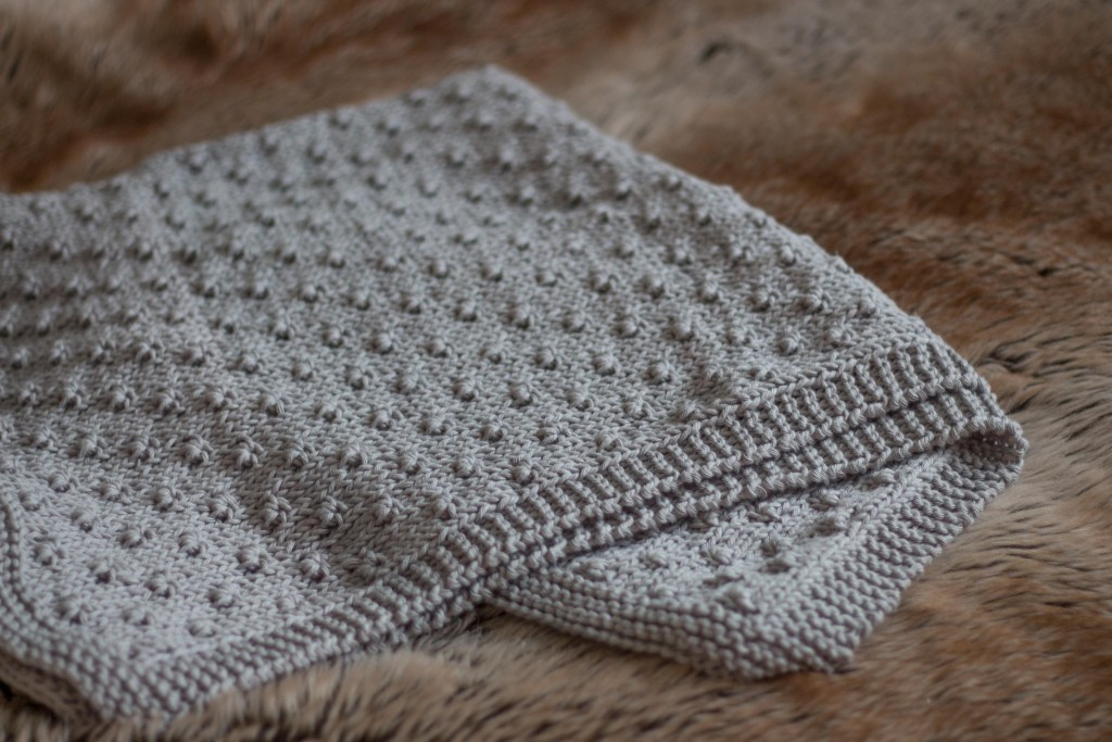 Knitted Baby Blanket Beautiful Knot Stitch Baby Blanket Free Knitting Pattern Of Amazing 46 Pictures Knitted Baby Blanket