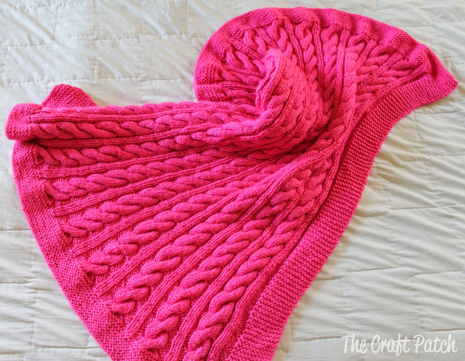 Knitted Baby Blanket Fresh Cable Knit Baby Blanket thecraftpatchblog Of Amazing 46 Pictures Knitted Baby Blanket