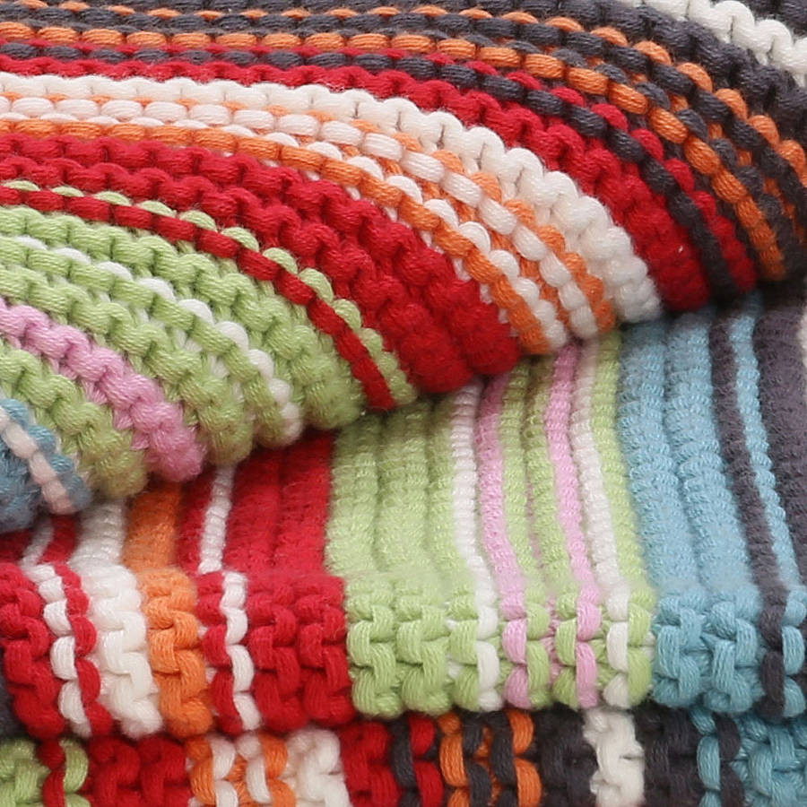 uni funky knitted blanket copy