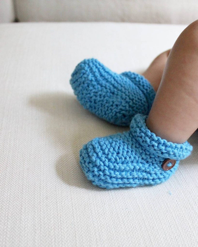 How To Knit Baby Boy Shoes Style Guru Fashion Glitz