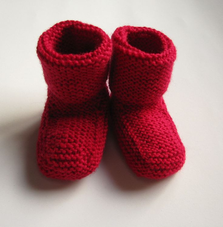 Baby Booties Knit Pattern Ravelry