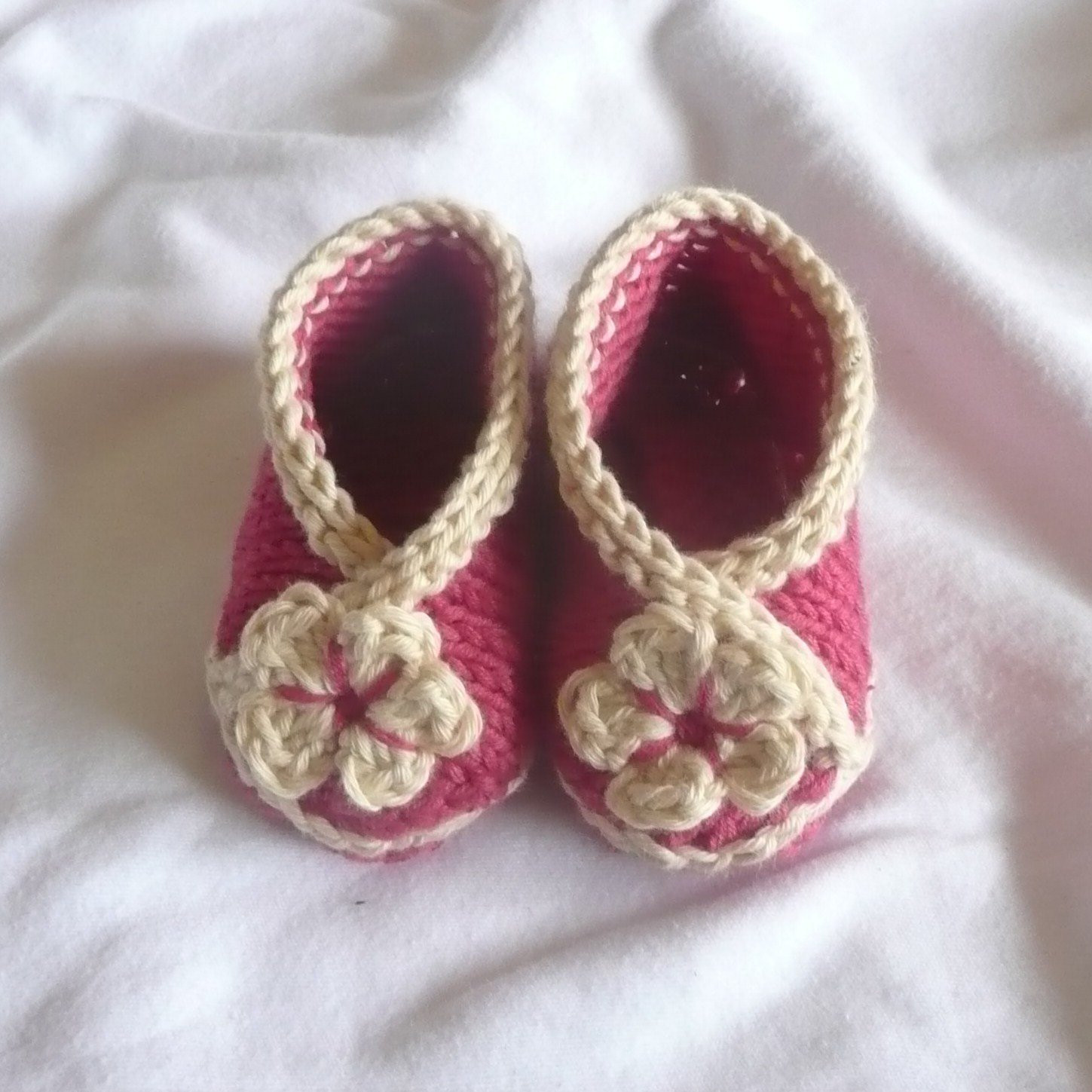 Baby Booties KNITTING PATTERN Baby Crossover Shoes INSTANT