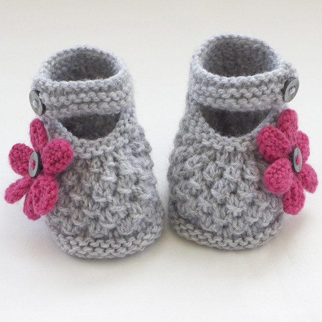 Knitted Baby Booties Best Of Hand Knitted Baby Shoes Booties Folksy Of Amazing 49 Photos Knitted Baby Booties