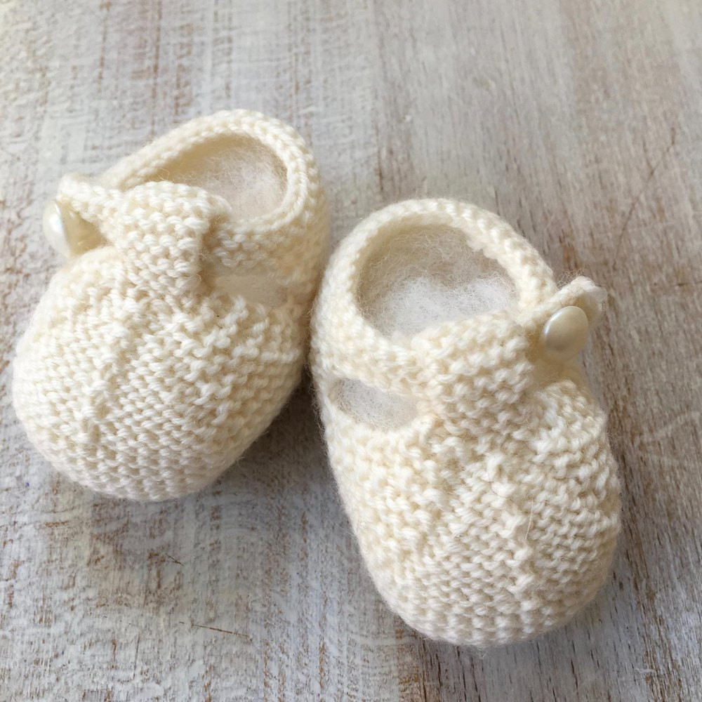 Knitted Baby Booties Fresh 40 Baby Booties Knitting Pattern by Florence Merlin Of Amazing 49 Photos Knitted Baby Booties