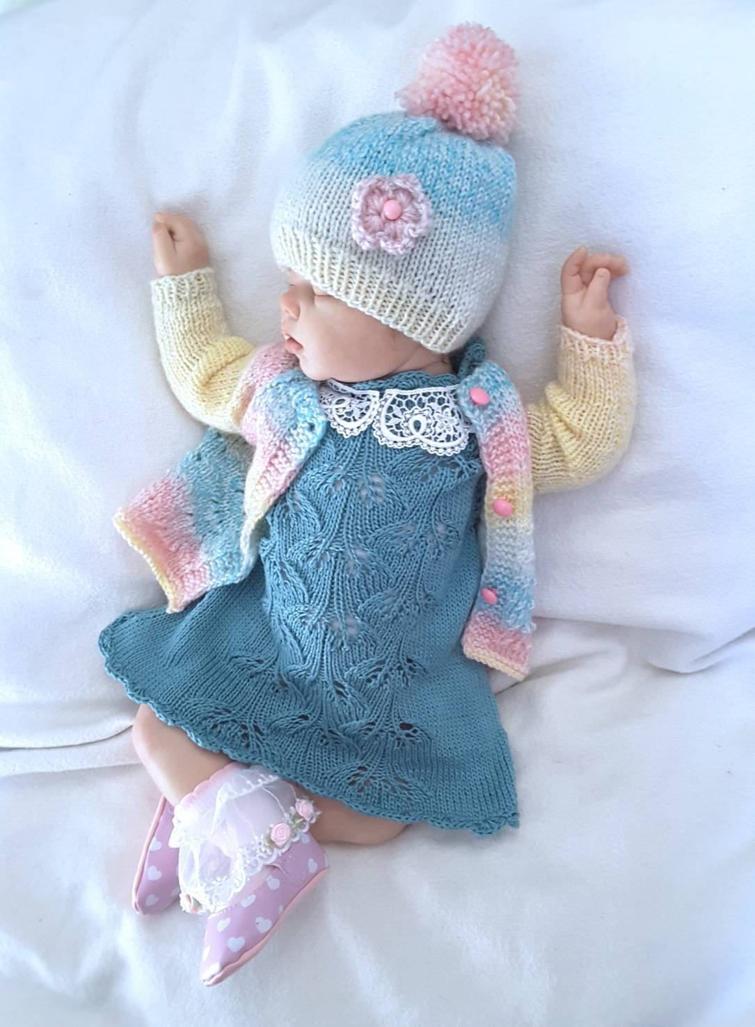 Knitted Baby Clothes New Hand Knit Baby Set Knitted Baby Clothes Knitted Dress Of Innovative 45 Images Knitted Baby Clothes