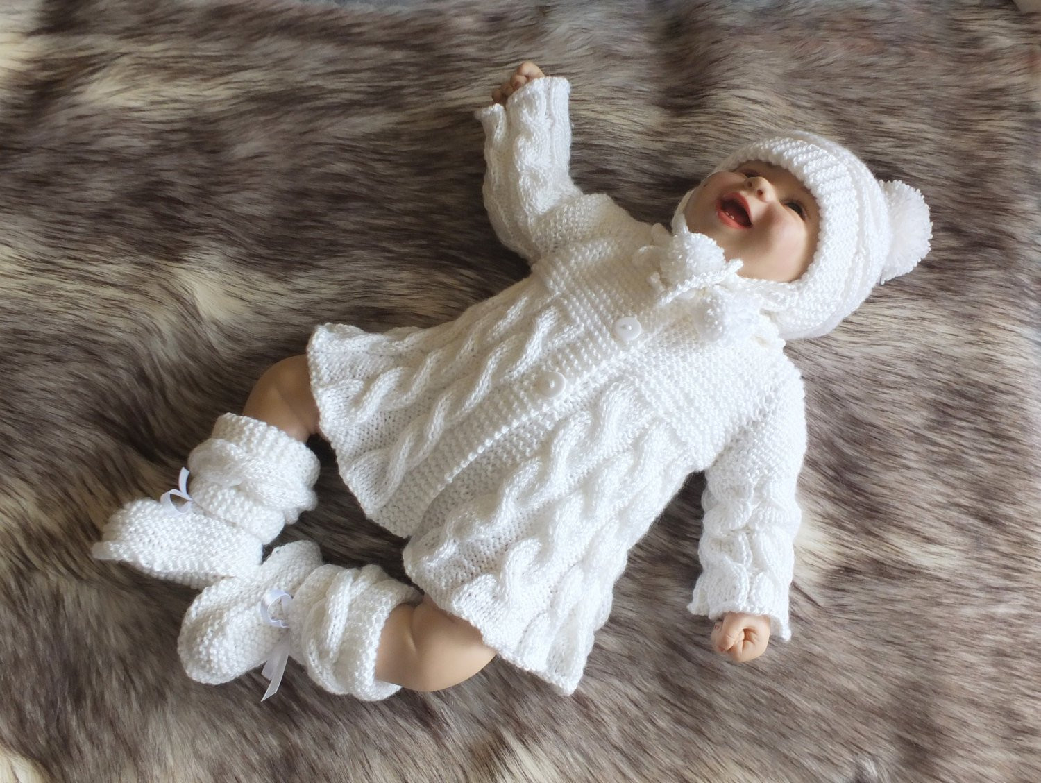 Knitted Baby Clothes New White Baby Girl Ing Home Outfit Knitted Baby Clothes Of Innovative 45 Images Knitted Baby Clothes