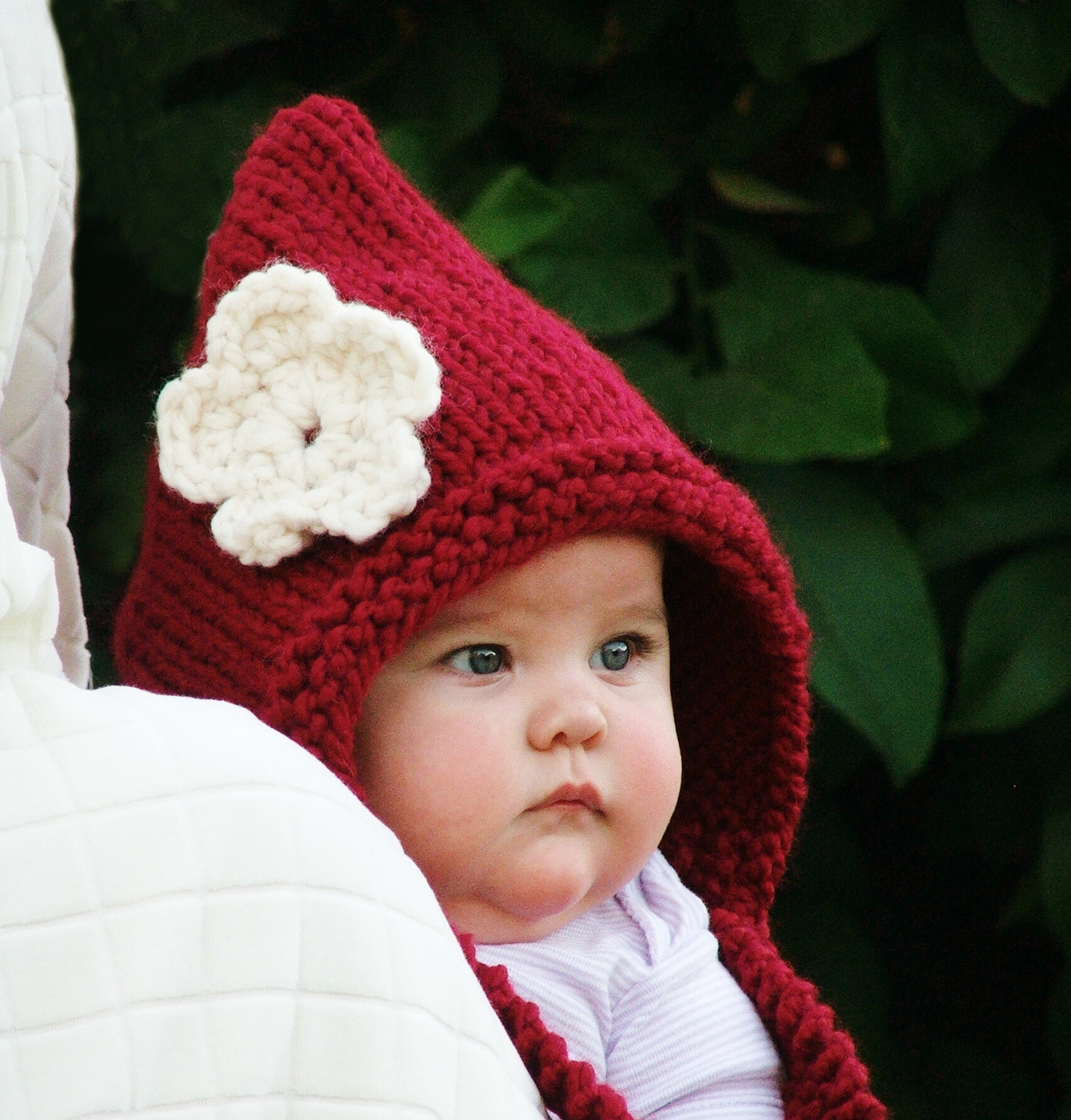 Knitted Baby Hats Beautiful Baby Pixie Hat Red Riding Hood Knit Baby Hat Newborn by Of Awesome 41 Images Knitted Baby Hats
