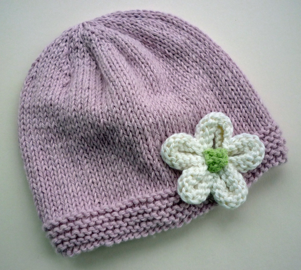 Mack and Mabel Knitted Flower Tutorial